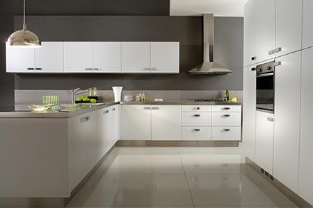 Muebles de cocina Serie Nova de Johnson Acero