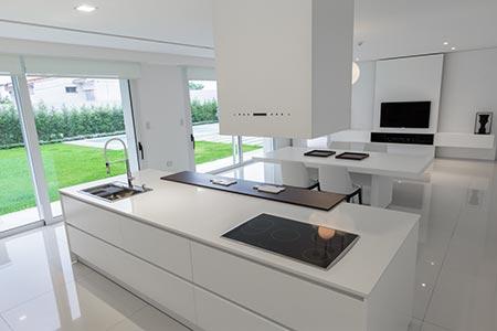 muebles de cocina johnson acero serie premium design