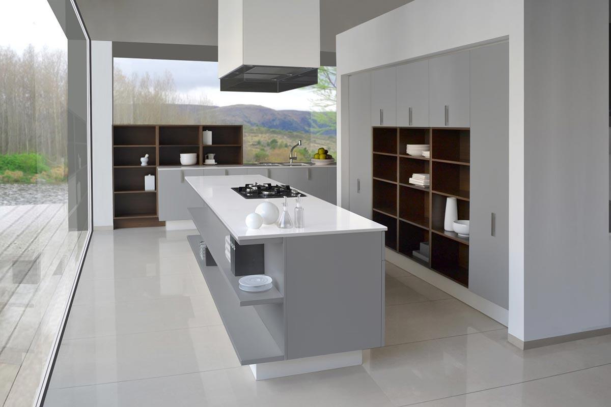 Lacar Cocinas Johnson Serie Premium - Diseño 5 Johnson Acero