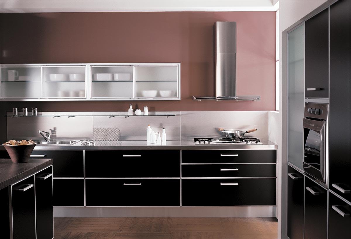 Sydney Cocinas Johnson Serie Premium - Diseño 5 Johnson Acero